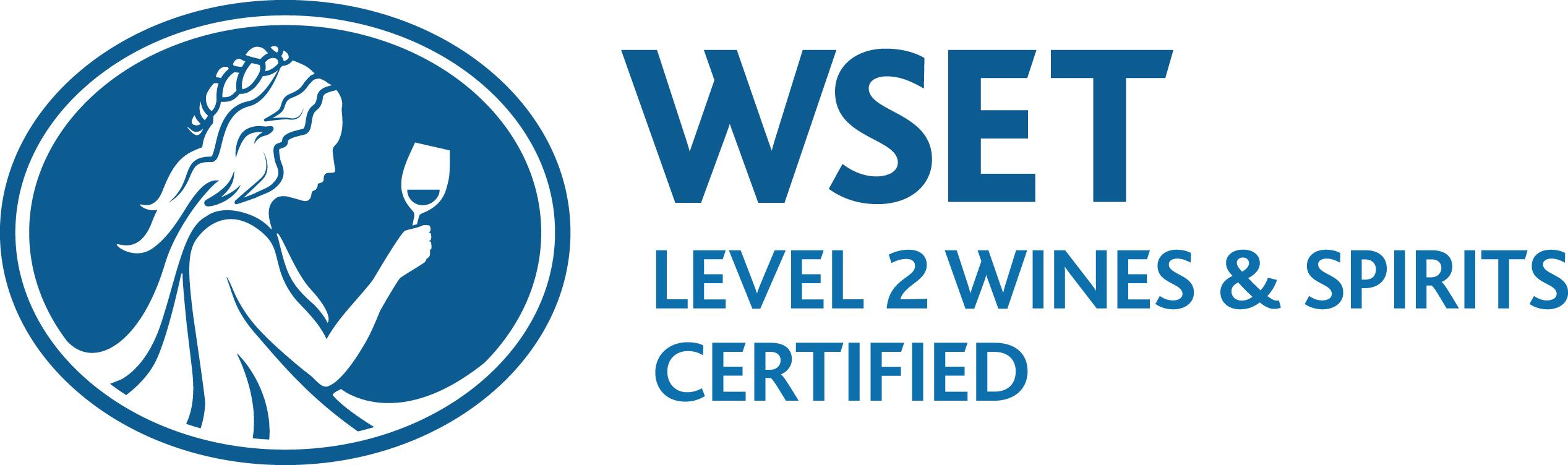 wset level 2 logo