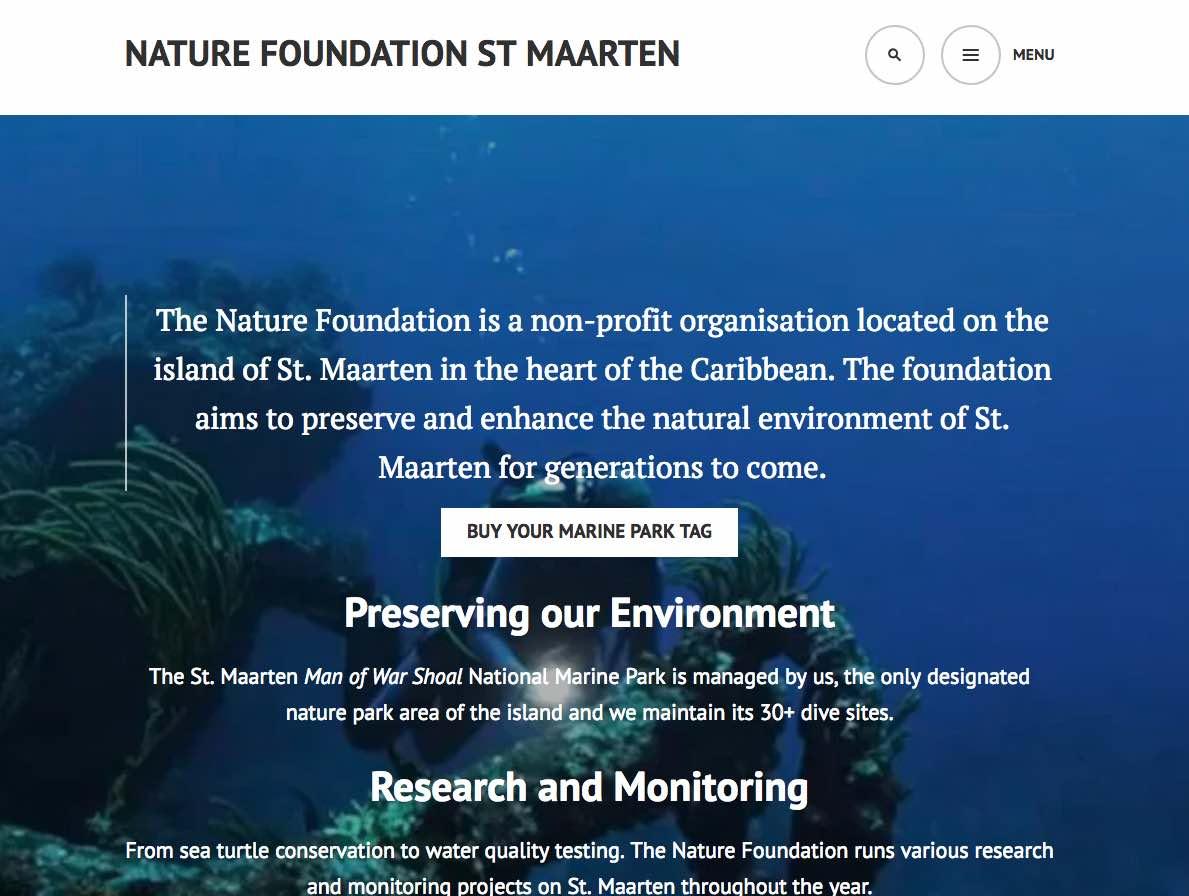st maarten nature foundation