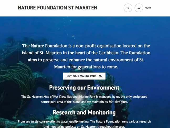 st maarten nature foundation