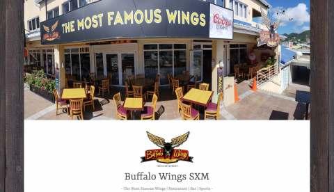 buffalo wings sxm