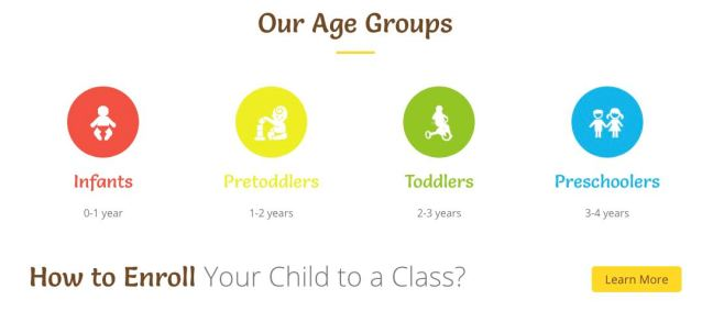 ideal preschool age groups