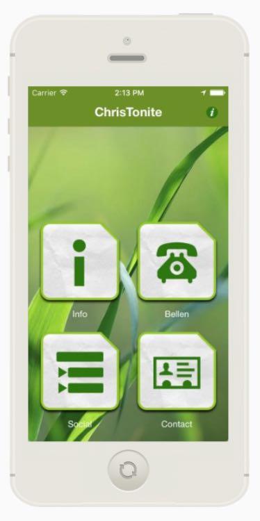 ChrisTonite demo AppMachine app